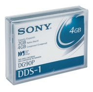 - SONY DG90P DDS1 90m 2GB / 4 GB 4mm DATA KARTUŞU