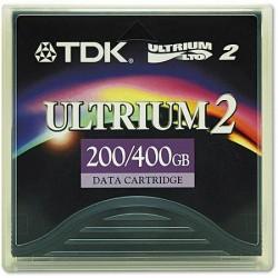 - TDK LTO-2 Ultrium 2 200 GB / 400 GB DATA KARTUŞU 609m, 12.65mm