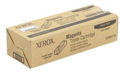 XEROX - XEROX 6125 106R01336 KIRMIZI ORJİNAL TONER 1000.Sayfa