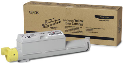 XEROX - XEROX 6360 106R01220 SARI ORJİNAL TONER Yüksek Kapasite