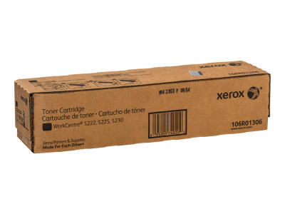 XEROX - XEROX WorkCentre 5225 / 5230 106R01306 SİYAH ORJİNAL TONER