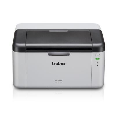 BROTHER - Brother HL-1211W-2T USB + Wi-Fi Mono Lazer A4 Yazıcı (2 Tonerli)