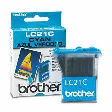BROTHER - Brother LC-21C Mavi Orjinal Kartuş - MFC-3100C / MFC-5100C