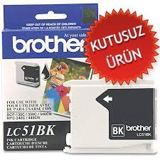 HP - BROTHER LC51BK SİYAH ORJİNAL KARTUŞ (U)