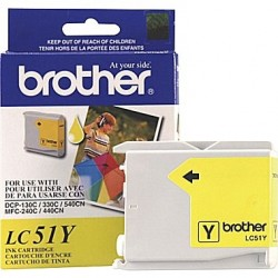 BROTHER - BROTHER LC51Y SARI ORJİNAL KARTUŞ DCP-130C / DCP-330C / MFC-440CN