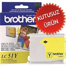 BROTHER - BROTHER LC51Y SARI ORJİNAL KARTUŞ (U)