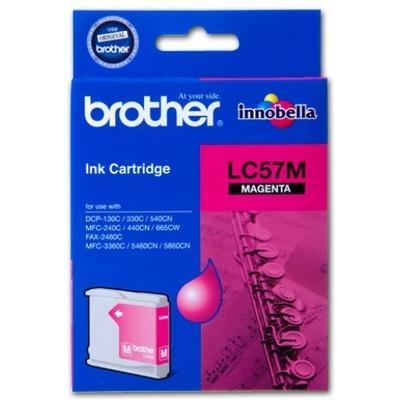 BROTHER - BROTHER LC57M KIRMIZI ORJİNAL KARTUŞ (LC-1000M)