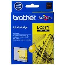BROTHER - BROTHER LC57Y SARI ORJİNAL KARTUŞ (LC-1000Y)