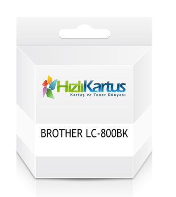 BROTHER - Brother LC-800BK Muadil Siyah Kartuş