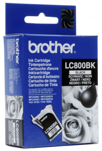 Brother LC-800BK Siyah Orjinal Kartuş