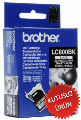 BROTHER - Brother LC-800BK Siyah Orjinal Kartuş (U)
