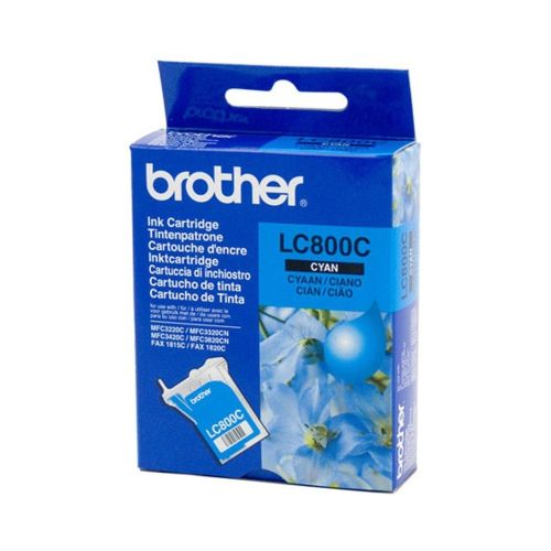 Brother LC-800C Mavi Orjinal Kartuş