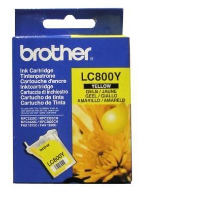 BROTHER - Brother LC-800Y Sarı Orjinal Kartuş