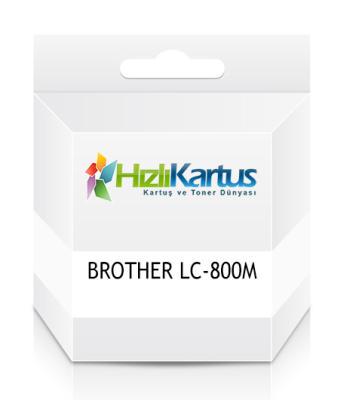 BROTHER - Brother LC-800M Kırmızı Muadil Kartuş