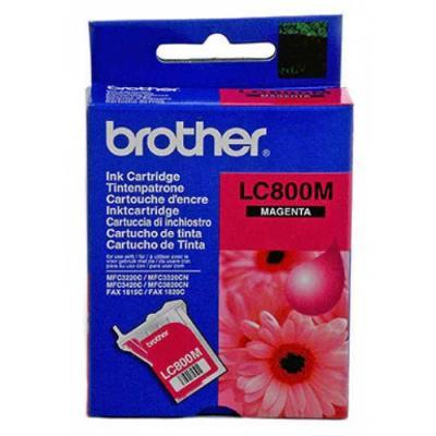 BROTHER - Brother LC-800M Kırmızı Orjinal Kartuş