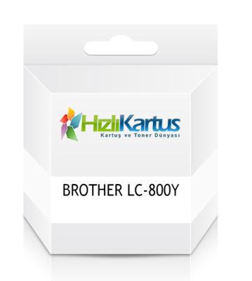 BROTHER - Brother LC-800Y Sarı Muadil Kartuş
