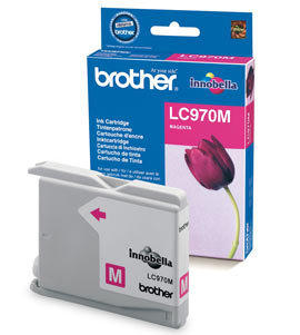 BROTHER - Brother LC970M Kırmızı Orjinal Kartuş