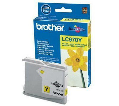 BROTHER - Brother LC970Y Sarı Orjinal Kartuş