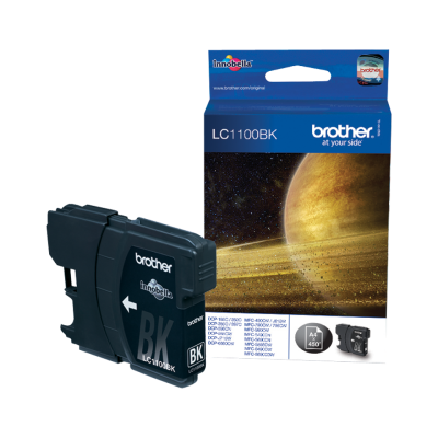 BROTHER - BROTHER LC1100BK SİYAH ORJİNAL KARTUŞ - DCP-385C/DCP-395CN/DCP-585CW/DCP-6690CW