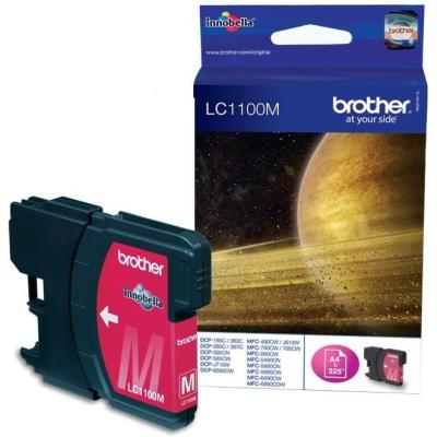BROTHER - BROTHER LC1100M KIRMIZI ORJİNAL KARTUŞ - DCP-385C/DCP-395CN/DCP-585CW/DCP-6690CW