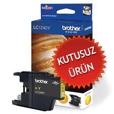 BROTHER - BROTHER LC1240Y SARI ORJİNAL KARTUŞ (U)