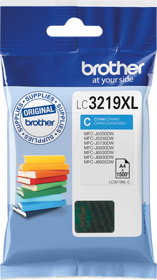 BROTHER - Brother LC3219XL C Mavi Orjinal Kartuş - MFC-J5330DW