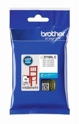 BROTHER - Brother LC3719XL C Mavi Orjinal Kartuş - MFC-J3930DW