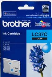 BROTHER - Brother LC37C Mavi Orjinal Kartuş - DCP-110C / 120C