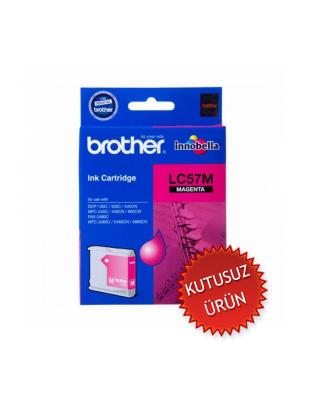 BROTHER - BROTHER LC57M KIRMIZI ORJİNAL KARTUŞ (U)