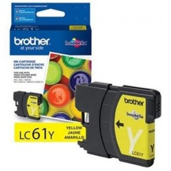 BROTHER - BROTHER LC61Y SARI ORJİNAL KARTUŞ MFC-490 / DCP-385