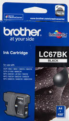 BROTHER - BROTHER LC67BK SİYAH ORJİNAL KARTUŞ