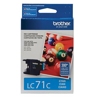 BROTHER - BROTHER LC71C MAVİ ORJİNAL KARTUŞ MFC-J280W / J425W / J625DW / J825DW