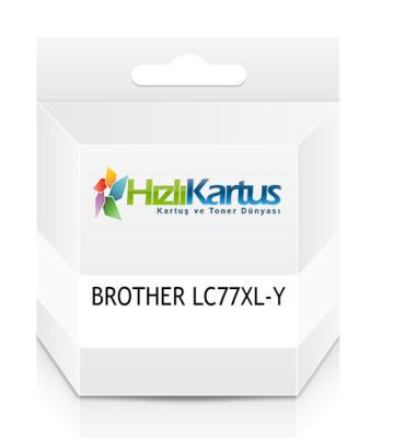 BROTHER - Brother LC77XL-Y Sarı Muadil Kartuş MFC-J6510DW / MFC-J6710DW / MFC-J6910DW