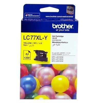 BROTHER - Brother LC77XLY Sarı Orjinal Kartuş - MFC-J6510DW / MFC-J6710DW