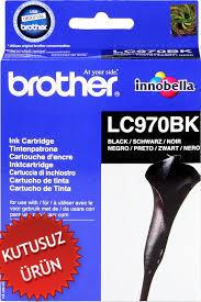 BROTHER - Brother LC970BK Siyah Orjinal Kartuş (U)