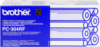 BROTHER - Brother PC-304RF FAX-770, FAX-775, FAX-870MC, FAX-885MC Fax Filmi 4lü Paket