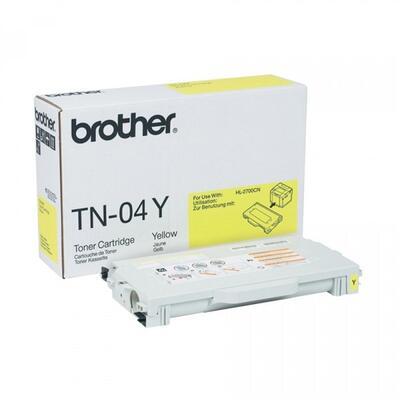 BROTHER - Brother TN-04Y Sarı Orjinal Toner - HL-2700CN / MFC-9420