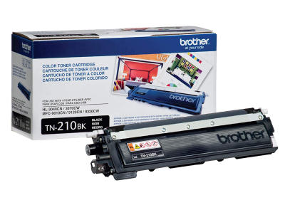 BROTHER - Brother TN-210BK Siyah Orjinal Toner - HL-3040CN, MFC-9010CN (B)