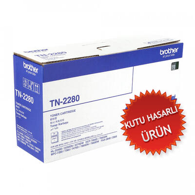 BROTHER - Brother TN-2280 Orjinal Toner DCP-7065, MFC-7360, HL-2250, Fax-2840 (C)