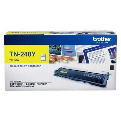 BROTHER - Brother TN-240Y Sarı Orjinal Toner - MFC-9120 / 9320 / HL-3070