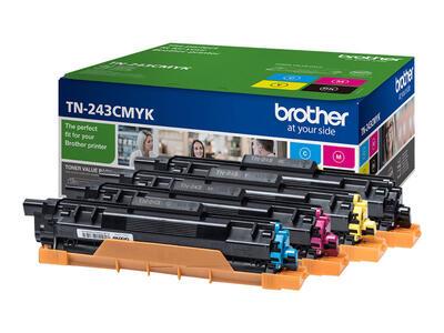 BROTHER - Brother TN-243CMYK Multipack Orjinal Toner - DCP-L 3510 / HL-L 321 / MFC-L 3710