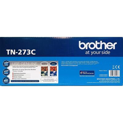 BROTHER - Brother TN-273C Mavi Orjinal Toner - HL-L3270CDW / DCP-L3551CDW / MFC-L3750CDW