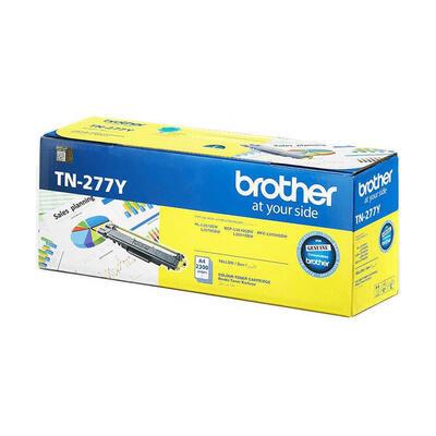 BROTHER - Brother TN-277Y Sarı Orjinal Toner Yüksek Kapasiteli - DCP-L3510