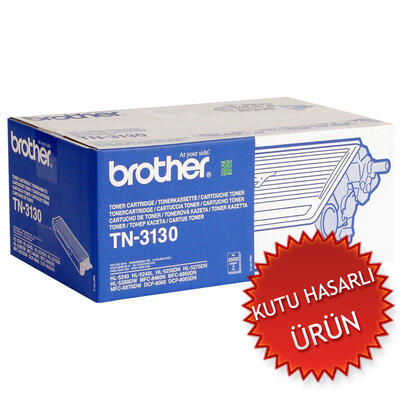 BROTHER - Brother TN-3130 Siyah Orjinal Toner (C)