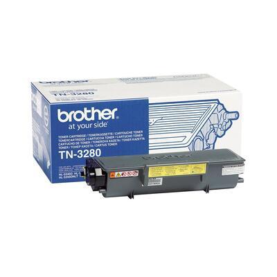 BROTHER - Brother TN-3280 Siyah Orjinal Toner Yüksek Kapasite