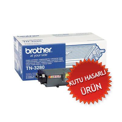 BROTHER - Brother TN-3280 Siyah Orjinal Toner Yüksek Kapasite - DCP-8070D (C)