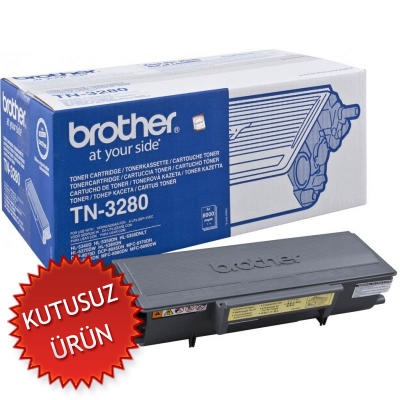 BROTHER - Brother TN-3280 Siyah Orjinal Toner - Yüksek Kapasite (U)