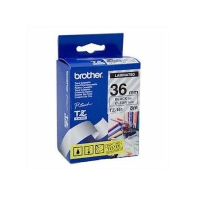BROTHER - BROTHER TZ-261 (36MM) SİYAH LAMİNE ETİKET