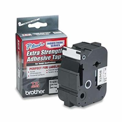 BROTHER - BROTHER TZ-S261 (36MM) SİYAH LAMİNE ETİKET