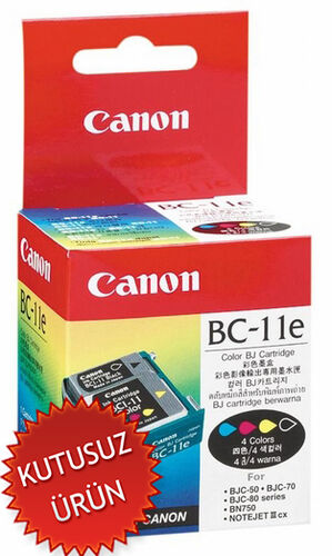 Canon BC-11E Orjinal Kartuş (U)